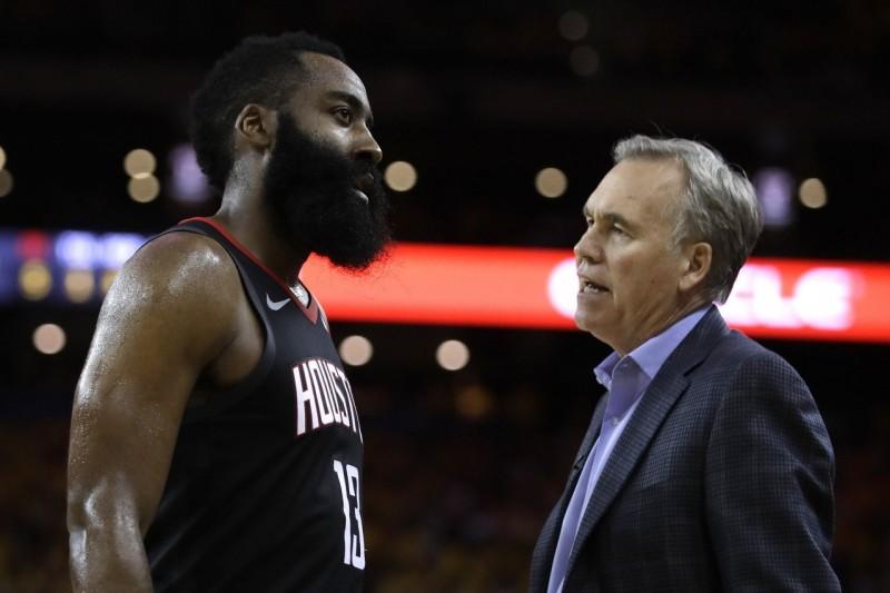 NBA/火箭重整教練團 不續任哈登心腹助教