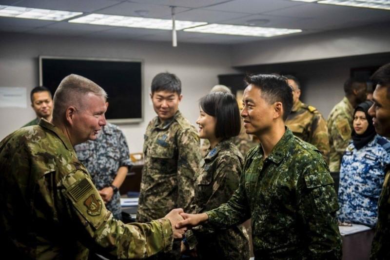 美軍放寬 我國官兵可著象徵主權制式軍服赴美參訓
