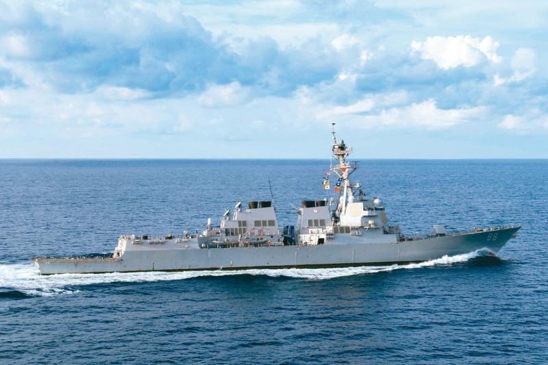 美神盾艦再穿越台灣海峽 專家提醒:這次沒開AIS