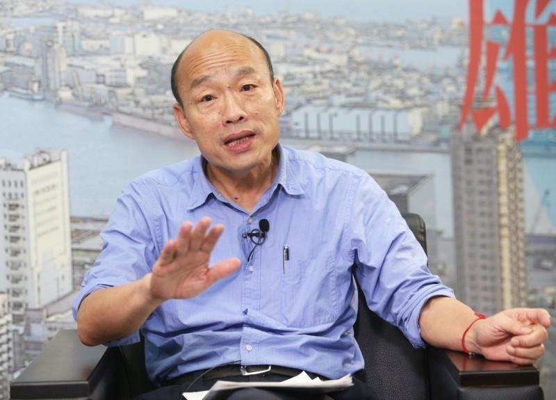 韓國瑜將克服帶職參選 心裡已有市長人選
