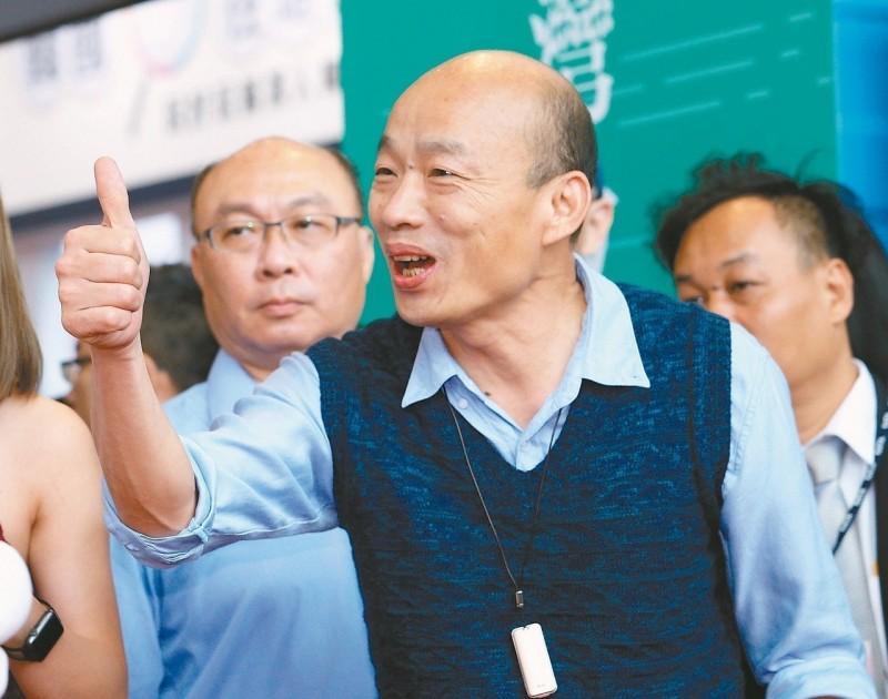 韓民調下修、郭民調難跨 國民黨內憂「贏局博到輸」