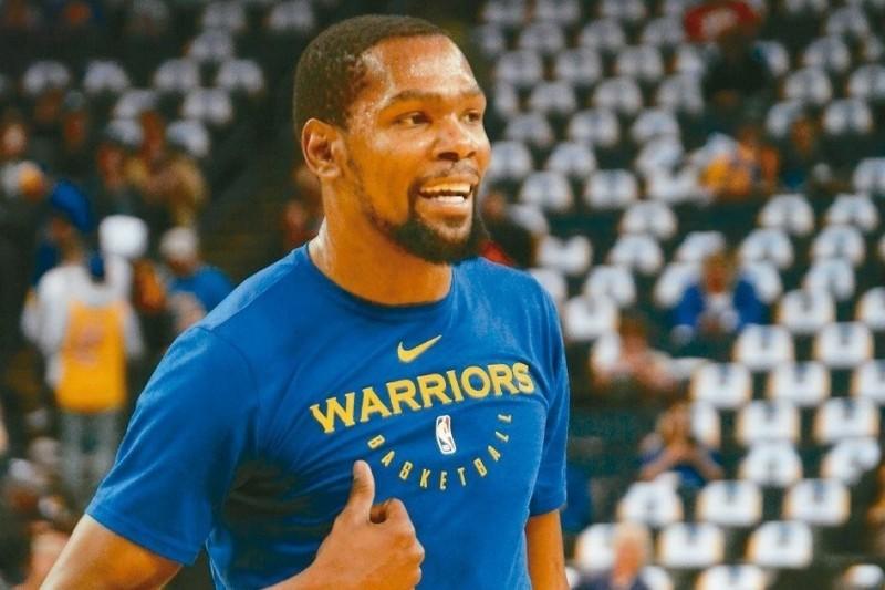 NBA/勇士沒他也能贏 杜蘭特走定了?