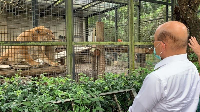 屏科大收容中心經費有解 蘇貞昌:不能刪動物的吃飯錢