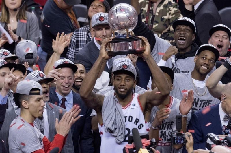NBA/率暴龍東區封王 雷納德:這不是結束