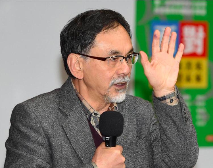 林濁水問郭台銘:一旦當選 要恢復軍公教原替代率?