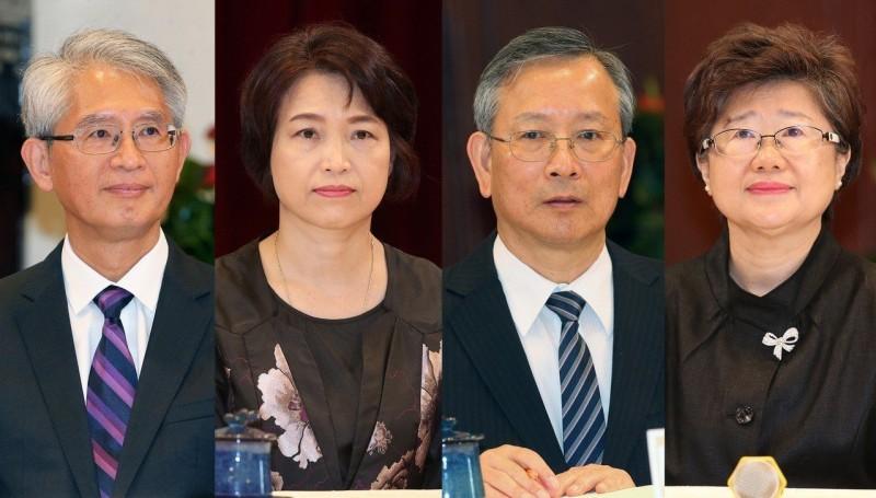 蔡英文最新提名大法官 呂太郎、蔡宗珍入列
