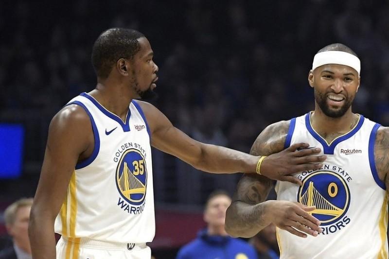 NBA/勇士KD確定缺席首戰 卡珍斯在找節奏