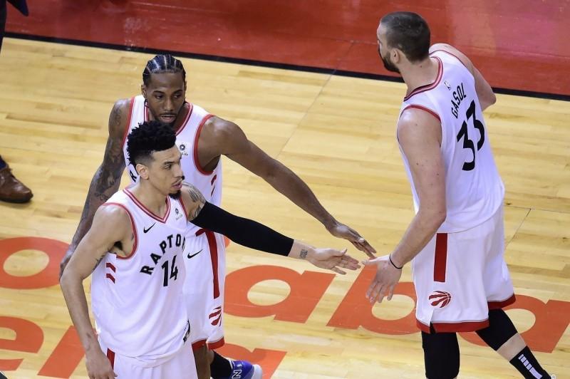 NBA/暴龍瞄準首冠 ESPN稱是勇士最強勁敵