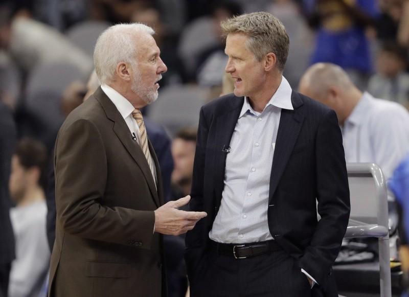 NBA/討教防守雷納德? 勇士、馬刺教頭共進晚餐