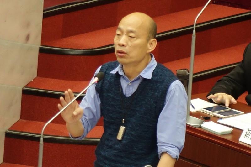 韓國瑜年改主張 恢復對已退休的承諾、提升管理效能