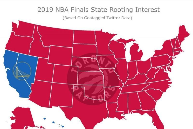 NBA/美國球迷受夠了? 僅3州支持勇士奪冠
