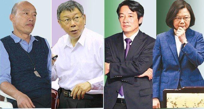 吳子嘉爆韓國瑜民調不是第1名 一對一民調還輸3人