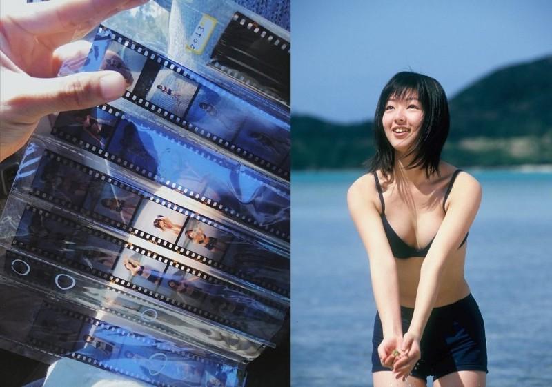 二手商店花5元買底片 意外洗出日女星20年前寫真照