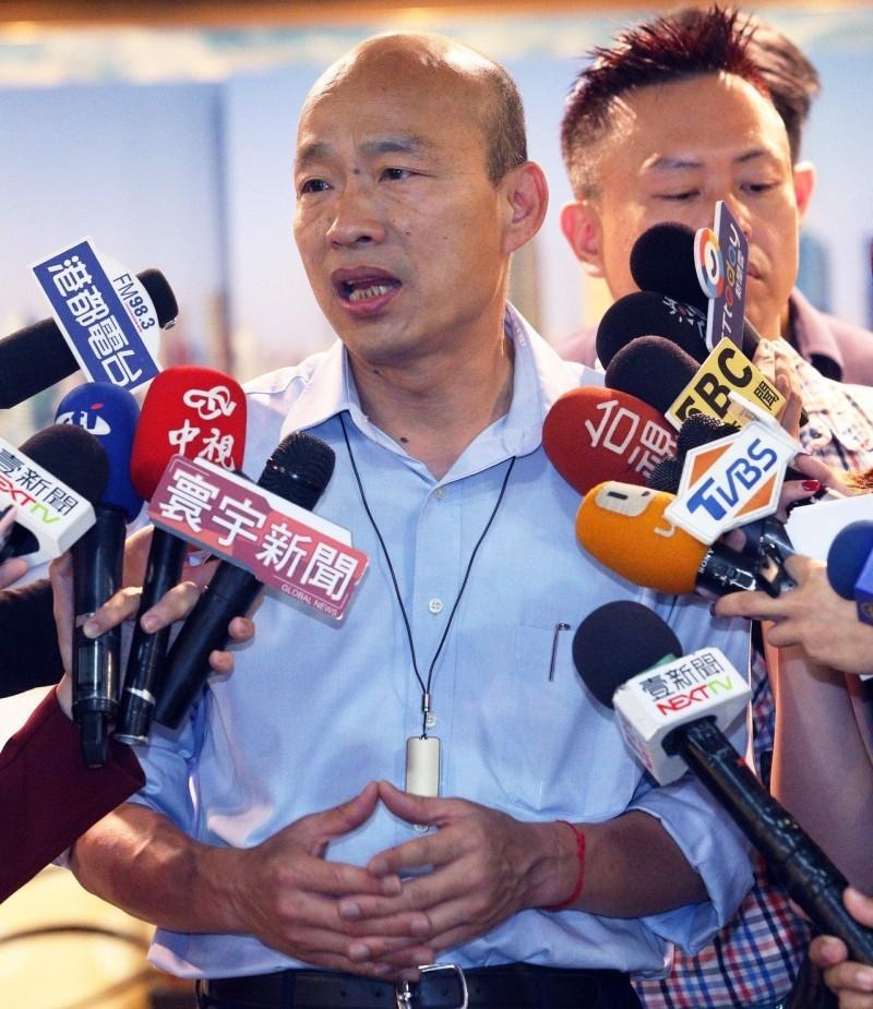 不滿吳子嘉亂爆料 韓國瑜發聲明:準備提告