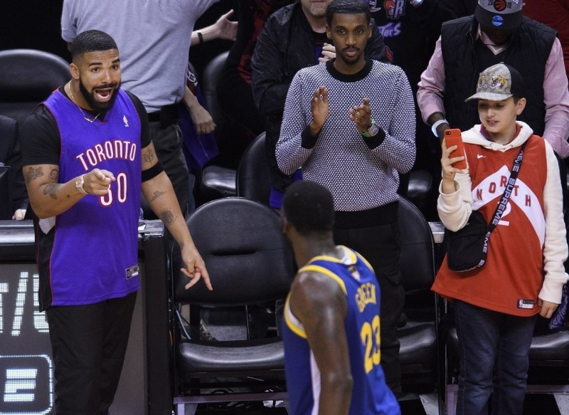 NBA/賽後與德瑞克有小衝突? 格林:講幾句話而已