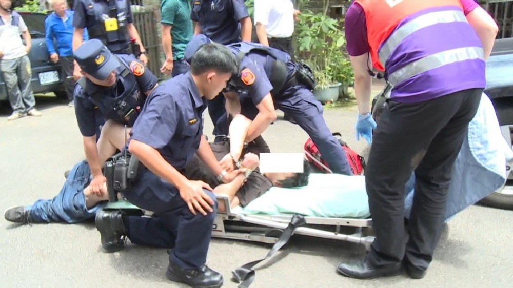 桃園男子疑思覺失調狂吼家人 還造成兩分局4警受傷