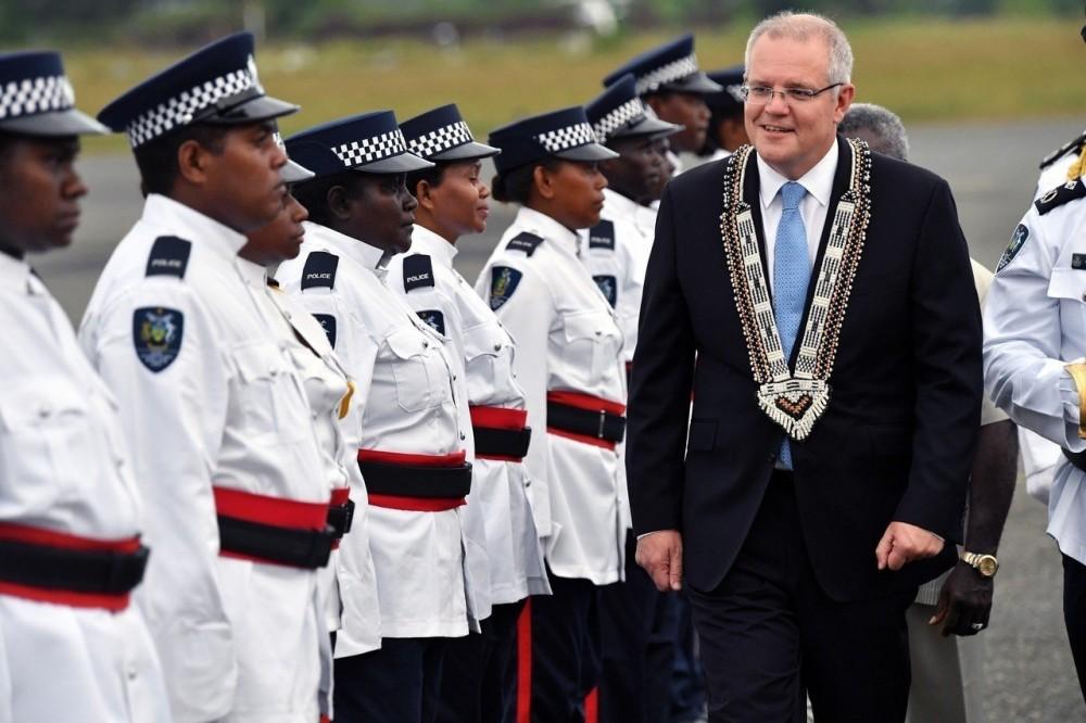 澳總理訪索羅門群島 防中國擴張在南太平洋勢力