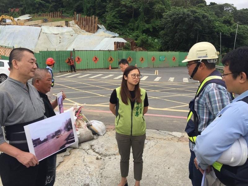 淡江大橋工程釀淹水? 新北市議員要求改善