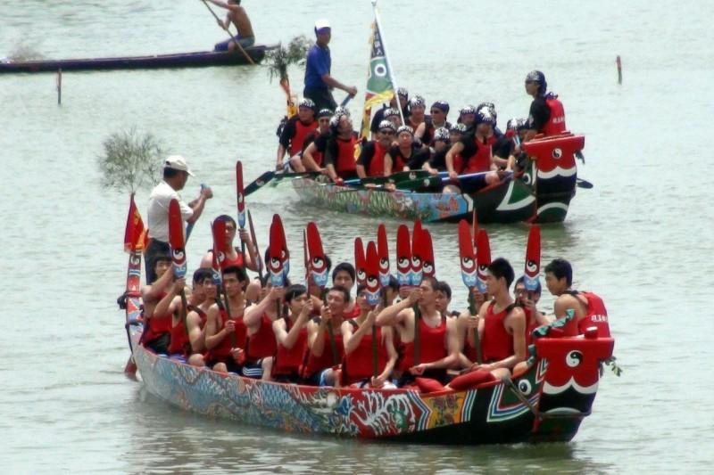 宜蘭二龍競渡221年了 划龍舟比賽還是沒有裁判
