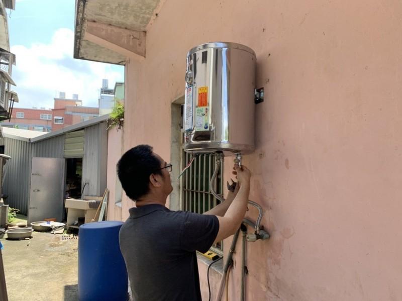 身心障礙家庭怕失火 熱心人送電熱水器