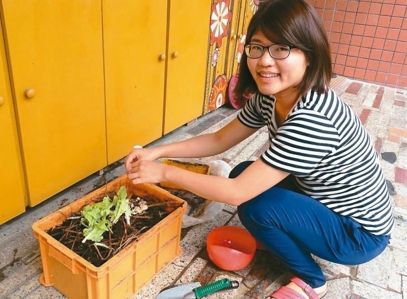 生廚餘製有機肥 開心種香草茶