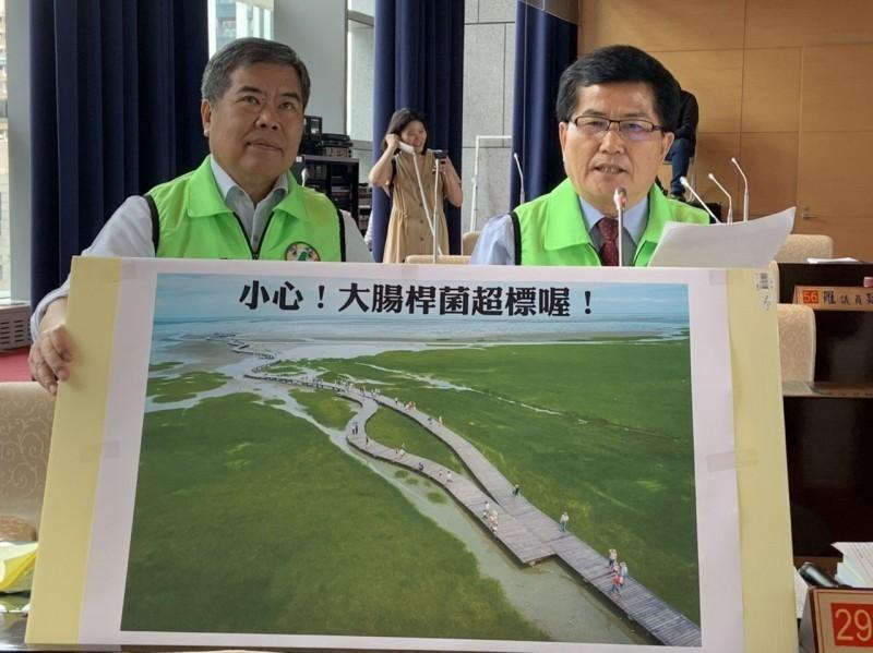 高美濕地海水汙染超標 市府3年調查結果「不宜親水」