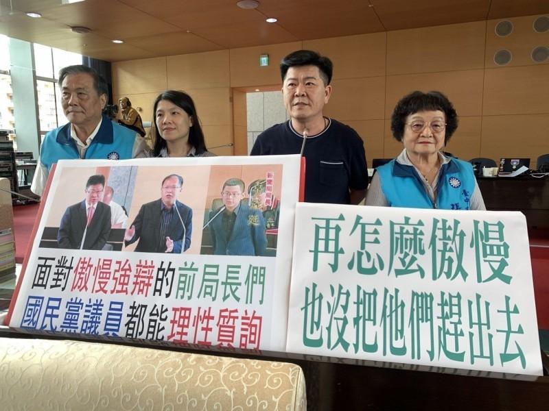 盧秀燕被綠議員趕出議場 藍營:昨情人今天變臉?