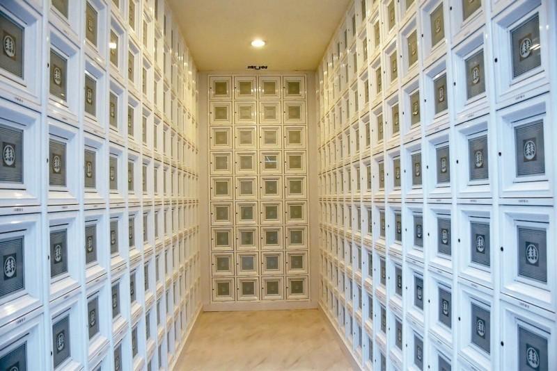 解塔位荒 樹林生命紀念館啟用