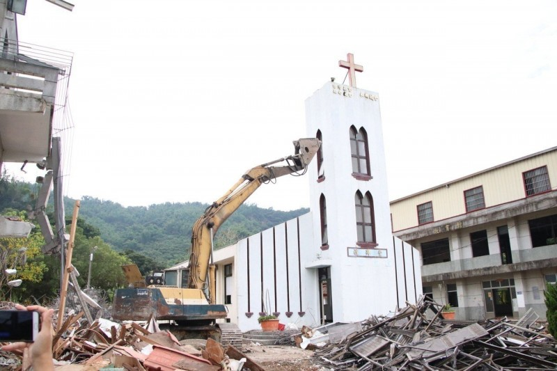 揮別雪白教堂 高雄木柵教會第五代教堂今天動工