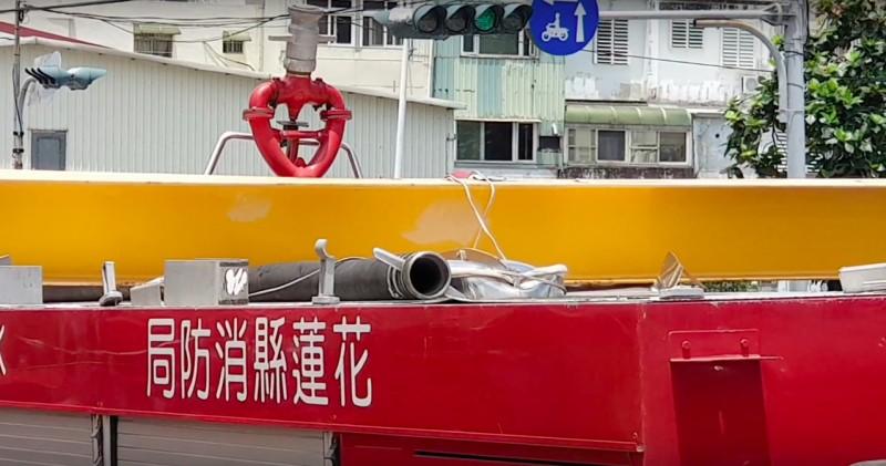 尷尬! 消防車卡尚志橋 花蓮市公所:9月封閉整修