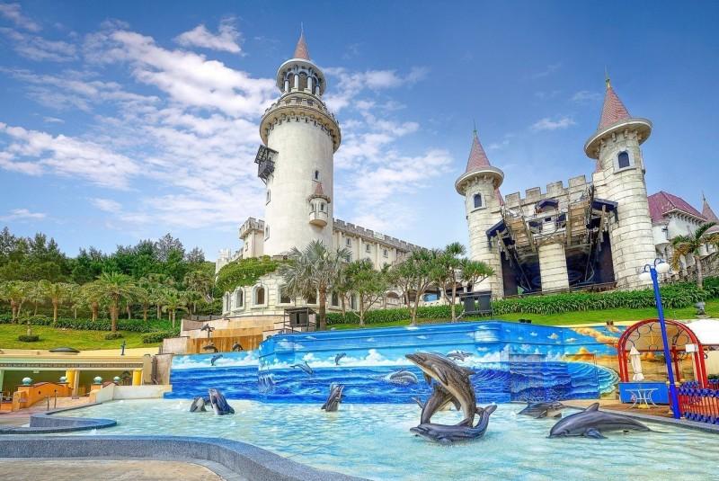 全台唯一 遠雄海洋公園 海豚3D戲水池開放
