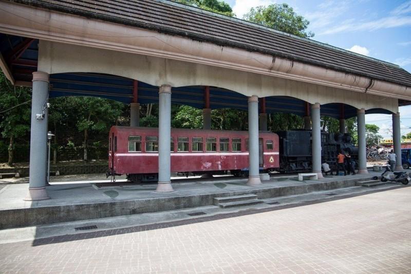 公園展示百年蒸汽火車缺乏維護 將回歸阿里山林鐵整修