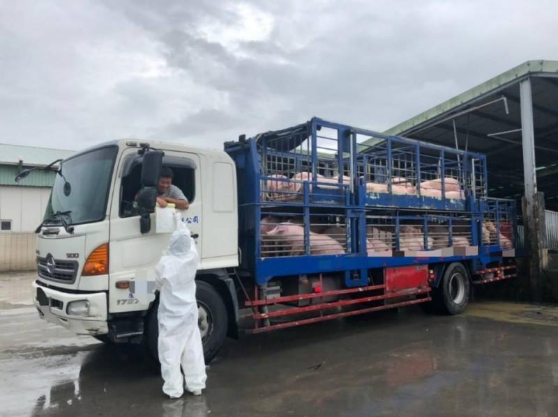 活豬運輸車強制加裝GPS 台南動保處:未裝下月將開罰