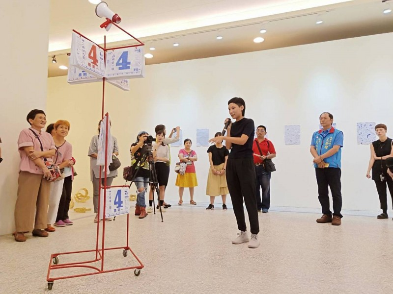 麻豆總爺駐村藝術家 把台灣俚語變行動藝術