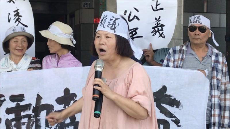 咬警事件被起訴 蔣月惠:生平第一次我也會怕