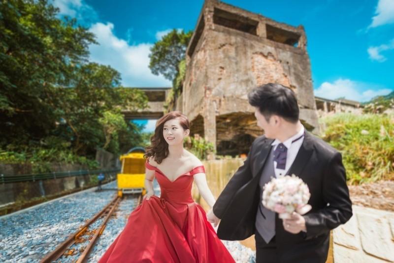 打造深澳鐵道自行車成婚紗景點 新北市準備禮金贈新人