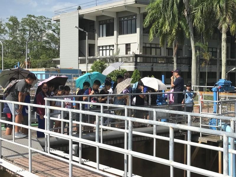 飲水思源 興國高中夏令營參訪烏山頭給水廠收穫多