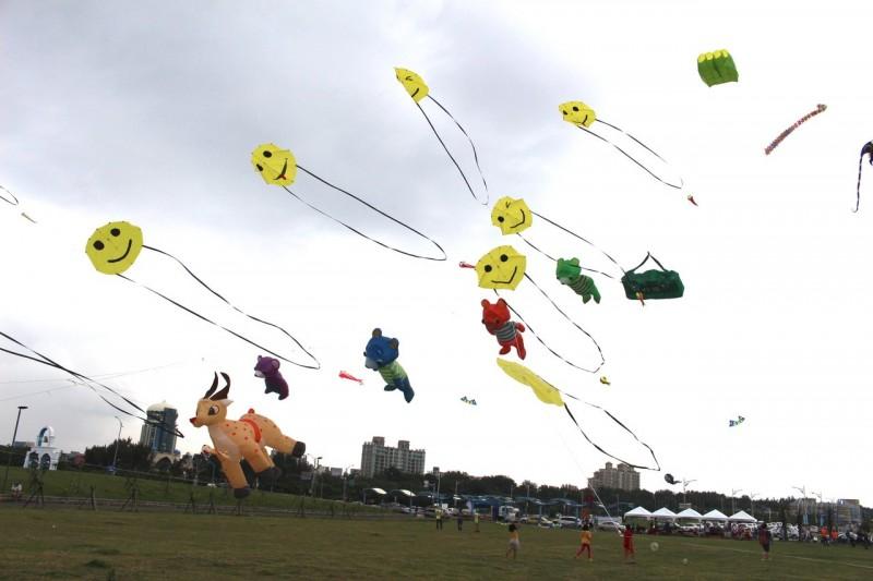 新竹國際風箏節周末登場 動物們齊聚空中動物園