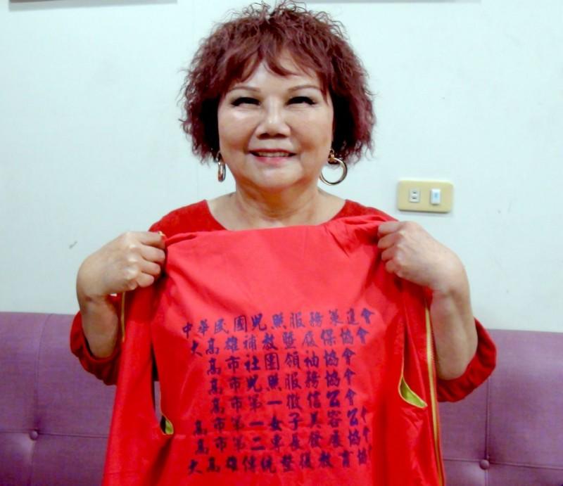 身兼8大社團理事長 劉秀鳳被封高雄社團界大姐大