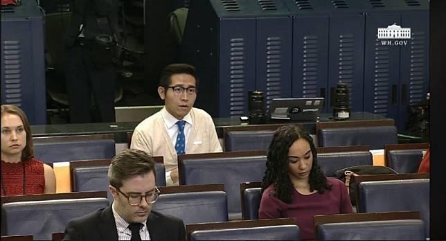 中媒記者回川普「來自台灣」 中國網友玻璃心嗆「已舉報台獨」