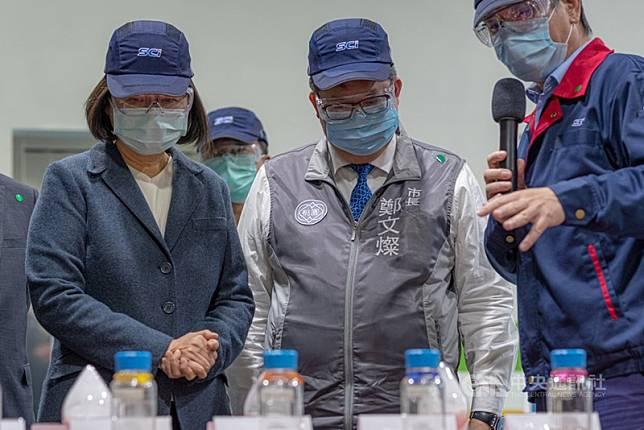 不只口罩國家隊,還有製藥國家隊!蔡英文宣布:未來3個月產1500萬顆奎寧備戰