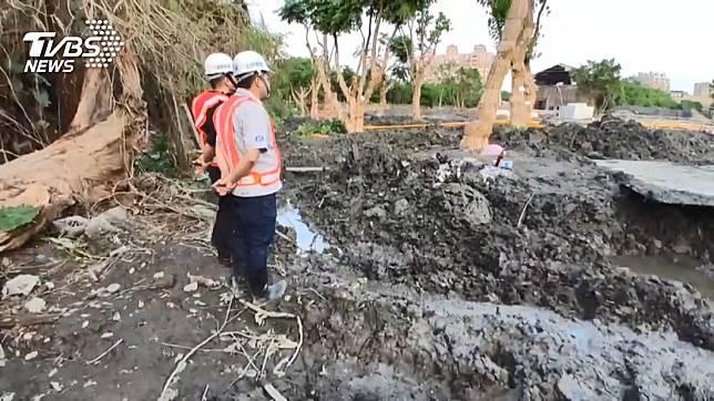 羅東工地挖出女屍 已「屍蠟化」死亡逾1個月