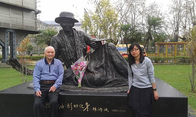 畫家陳澄波兒子陳重光過世 享壽95歲