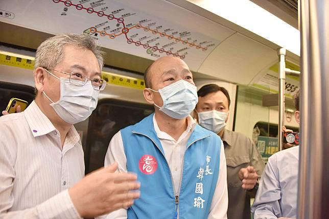 海軍艦隊大量確診 韓國瑜:高雄大眾運輸系統全面消毒、加強防疫應變