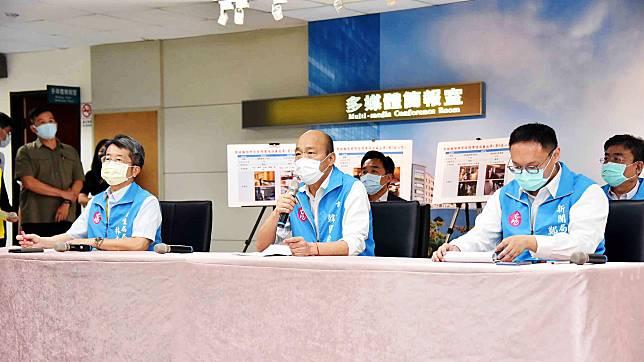 染疫官兵趴趴走 韓國瑜:9位市民疑似感染、92人拒疫調