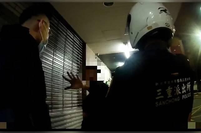 新北警朝醉男身體「揮擊9拳」 警局:不護短將函送法辦
