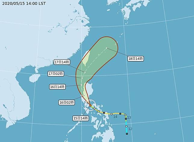 颱風黃蜂減弱為輕颱 可能發海警