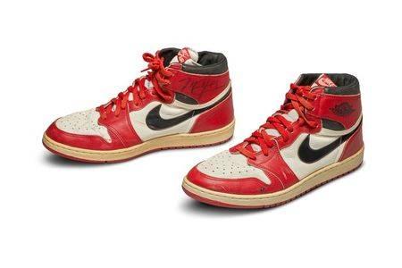 喬丹實戰鞋 1689萬天價賣出