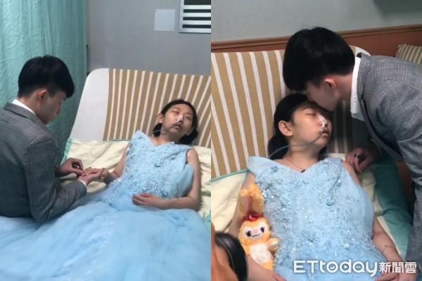 癌末女兒「穿上藍色禮服」 父慟曝最後心願:想見媽媽最後一面
